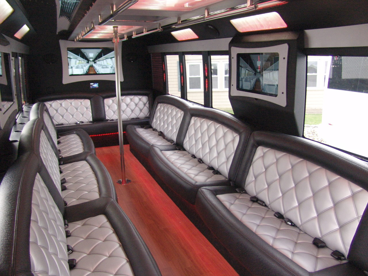 26 Passenger Limo Bus Party Bus Rentals New Jersey